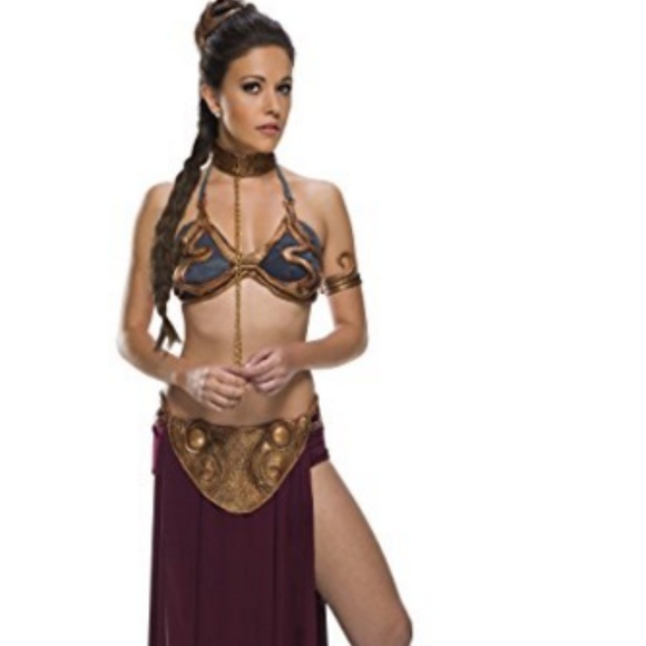Star Wars Dresses & Skirts - Star Wars Jabba's Prisoner Princess Leia Costume