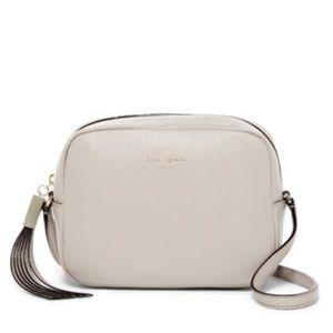 Kate Spade beige crossbody purse
