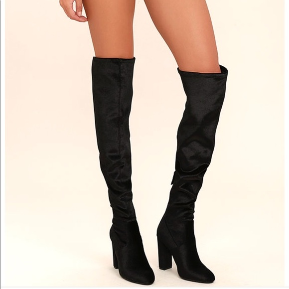 c7fe7f1e1fb 🌸STEVE MADDEN Emotions Over the Knee Thigh Boots.  M 59c41e5c6d64bc5ded021423