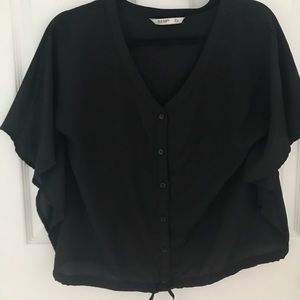 Black button down from old navy size small
