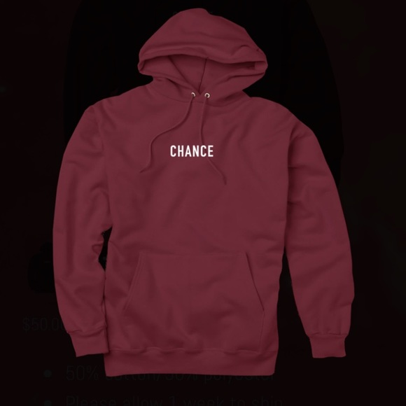 Tops Chance The Rapper Hoodie Poshmark