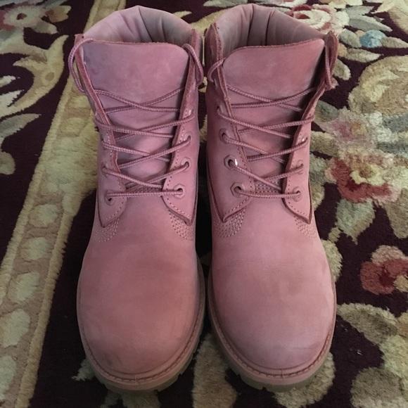2a88298270 Timberland Shoes | Blush Pink Boots | Poshmark