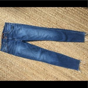 Joe's Jeans size 27, skinny, frayed at ankle