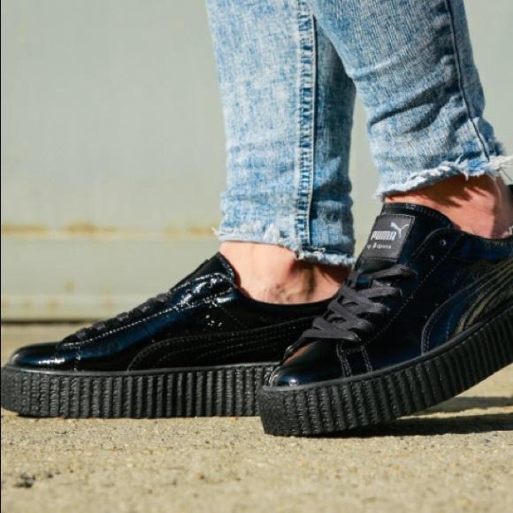 NIB Fenty Creeper Wrinkle Sneakers 462b8c2108