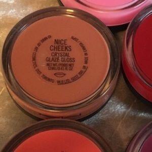 Mac nice cheeks crystal glaze gloss