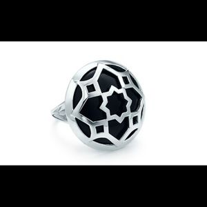 Tiffany & Co. Onyx Ring size 6