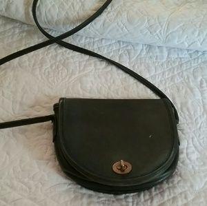 Coach classic black mini bag