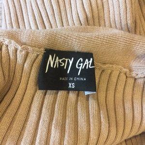 Nasty Gal Dresses - Nasty Gal nude sweater dress
