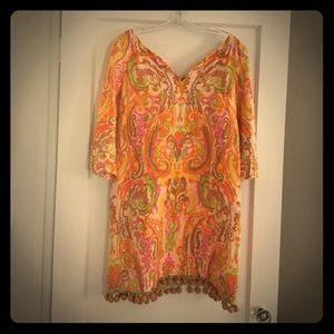 Vintage J.Crew Paisley Dress