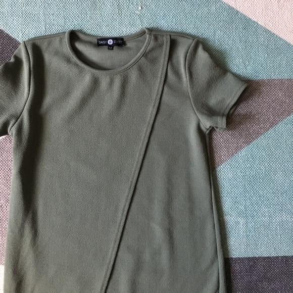 Asos Dresses - NWOT ASOS daisy street green draped mini dress.