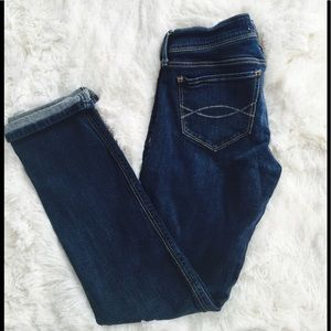 Abercrombie and Fitch crop jean