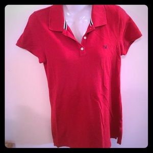 American Eagle Outfitters Red Shirt. Size Large.