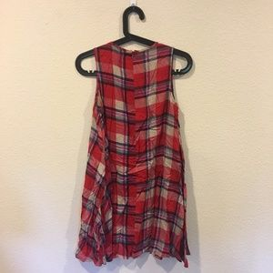 Boohoo Dresses - Boohoo red plaid dress