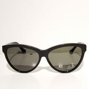 Balenciaga Black Cateye Sunglasses