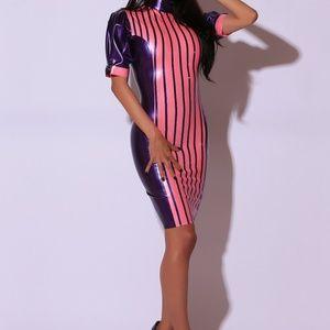 Westward Bound Dresses - MAITRESSE-EN-TITRE FEMME LATEX RUBBER DRESS.