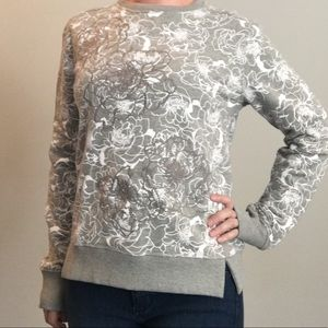 Banana Republic sweatshirt with embroidery detail