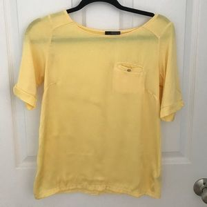 Yellow The limited top XS