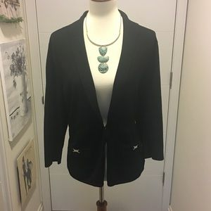 WHBM cardigan with metal details