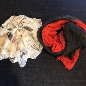 Accessories - Girly Chiffon & Two Tone Cotton Scarves
