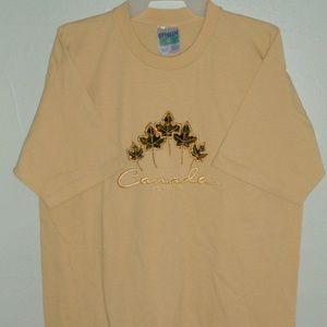 Canada T shirt Canadian Maple Leaf Large