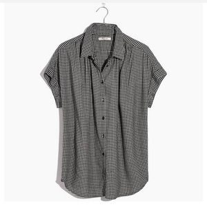 NWT Madewell Central Shirt in Hayden Plaid