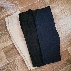 Bundle of maternity pants