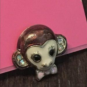 Cute Little Monkey Post Earrings