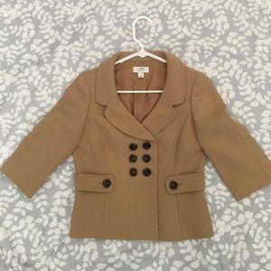 Gorgeous jacket camel perfect for fall