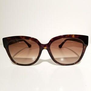 Balenciaga Brown Square Sunglasses
