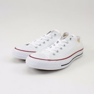 Converse All Star Low Tops // Optic White// Size 9