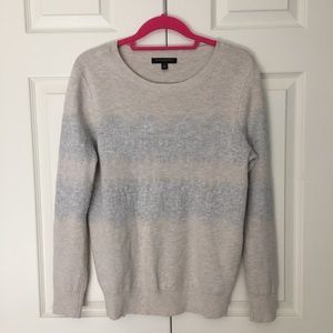 Banana Republic Lacey Pointelle Detail  Sweater