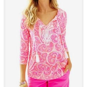 Lilly Pullitzer Holly Top