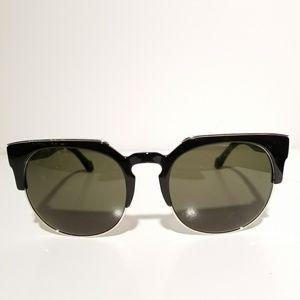 Balenciaga Black Wayfarer Sunglasses