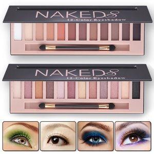 🆕NAKED Shimmer Glitter 12 Color Eyeshadow Palette