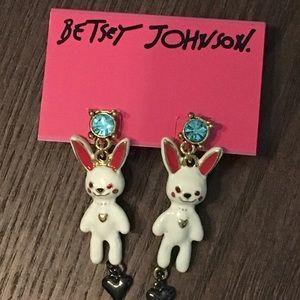 Cute Designer Bunny Drop Earrings