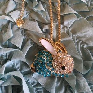 ❗️CloseOut Betsey J Bunny Necklace