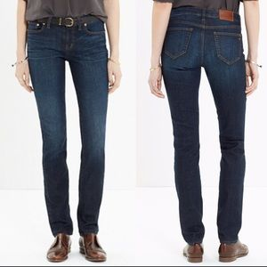 Madewell Alley Straight Leg Jeans