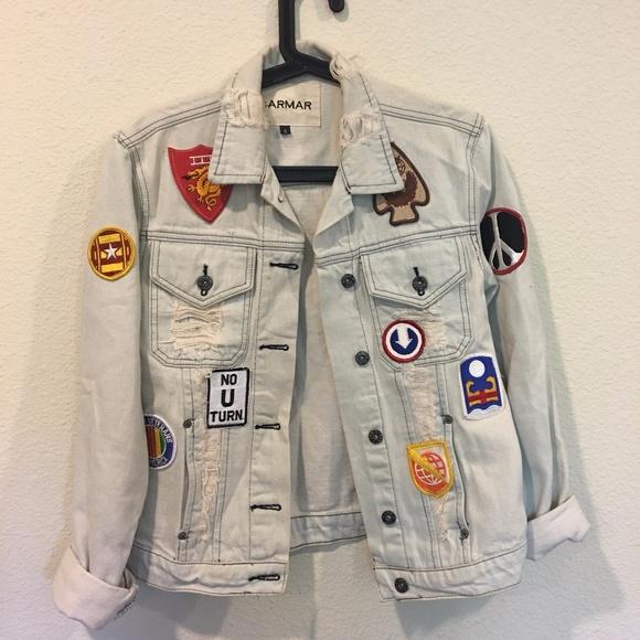 Carmar Jackets & Coats - Carmar patched jean jacket