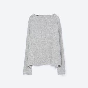 ZARA soft touch sweatshirt size S