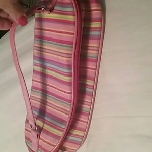 Estee Lauder extra large makeup/purse with handle