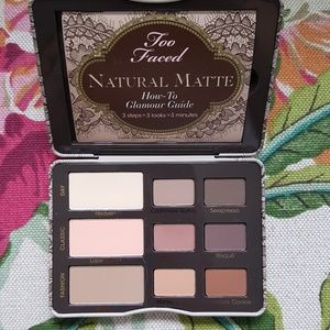 Brand new Too Faced Natural Matte eyeshadow palett