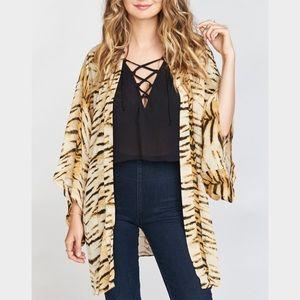 Tiger Show me your Mumu Kimono