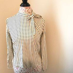 Forever 21 blouse with bow tie front