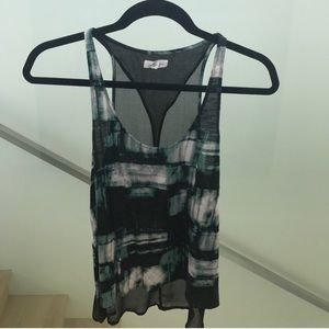 Sheer/Openback Tank Top Urban Outfitters