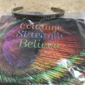 Quotable inspirational cuffs