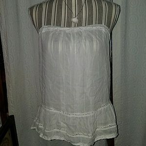 Old navy size small white tank