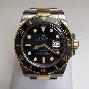Rolex submariner 2 tone 940L SS and 18k gold wrap