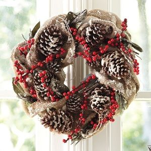 Country Christmas Wreath