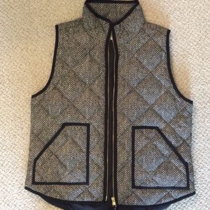 J. Crew Excursion Vest Herringbone