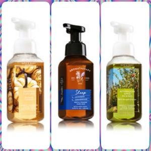 3 Bath and Body Works soaps